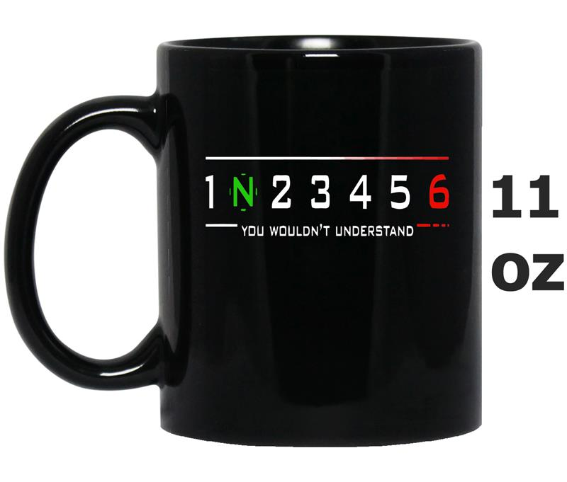 1N23456 Motorcycle you wouldnt understand-Mug OZ