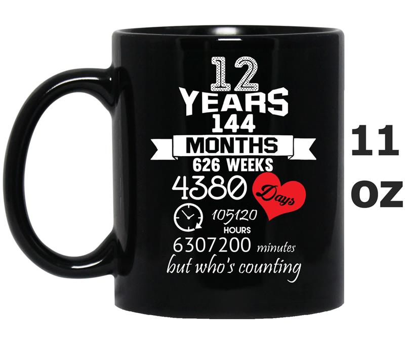 Anniversary Gift 12th - 12 years Wedding Marriage ideas ...