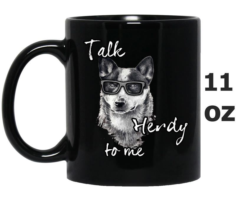Australian Cattle Dog - Talk Herdy to me -BN-Mug OZ