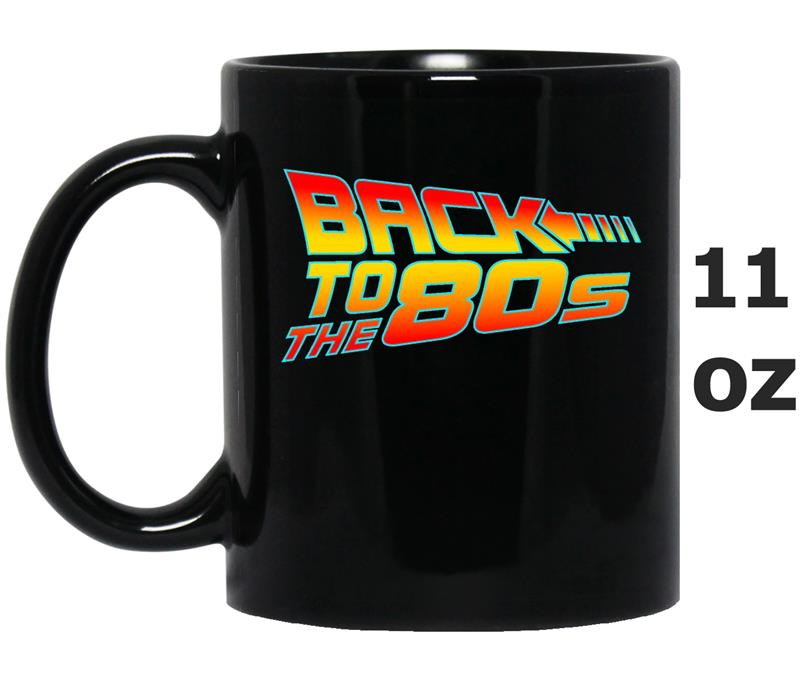 Back To The Eighties  Culture Flashback Retro-Mug OZ
