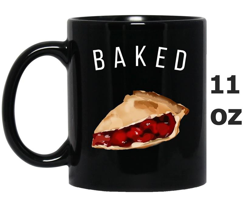 Baked Like Cherry Pie Apple Funny Girls Meme  Women-Mug OZ