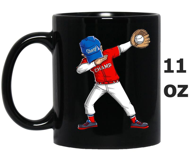 Baseball Dabbing  Funny Dab Dance  Boys Girls-BN-Mug OZ