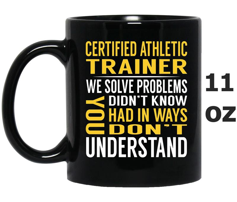 Certified Athletic Trainer Solve Problems -ANZ-Mug OZ