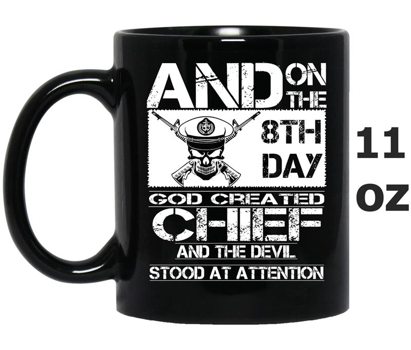 Chief  and on the 8th day god created chief and the-CD-Mug OZ