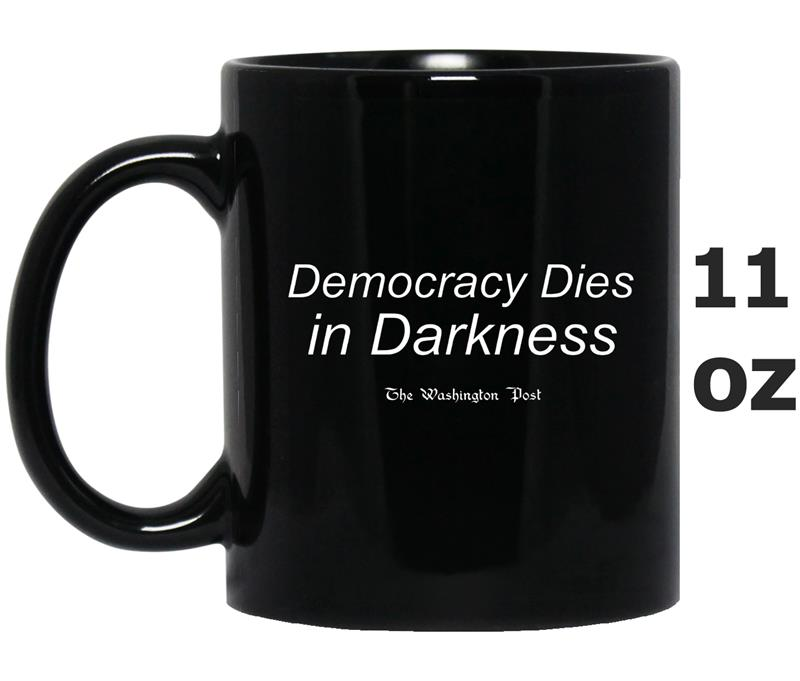Democracy Dies in Darkness-Mug OZ