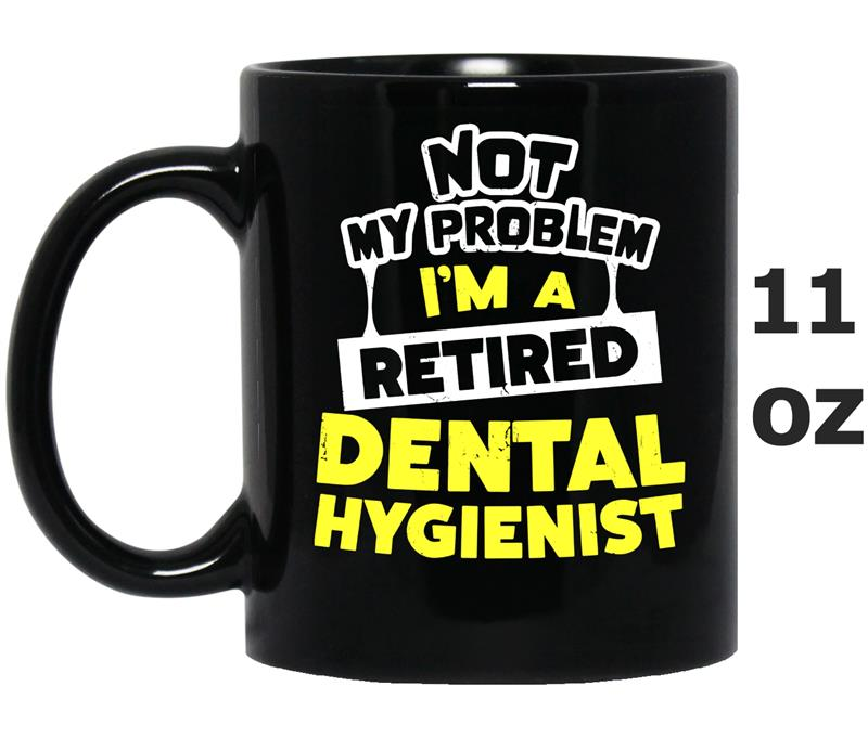 Dental Hygienist Retirement Gift Idea-Mug OZ