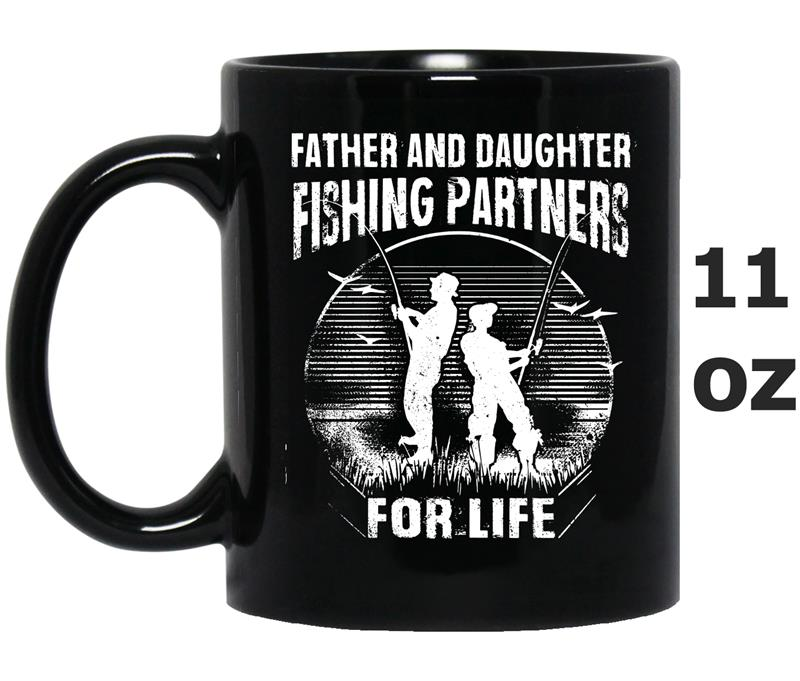 Father and Daughter Fishing Partners -TH-Mug OZ
