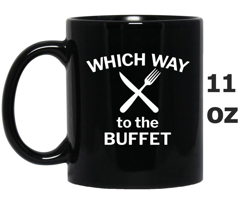 Which Way to the Buffet Funny Cruise  for Food Lovers-ANZ-Mug OZ