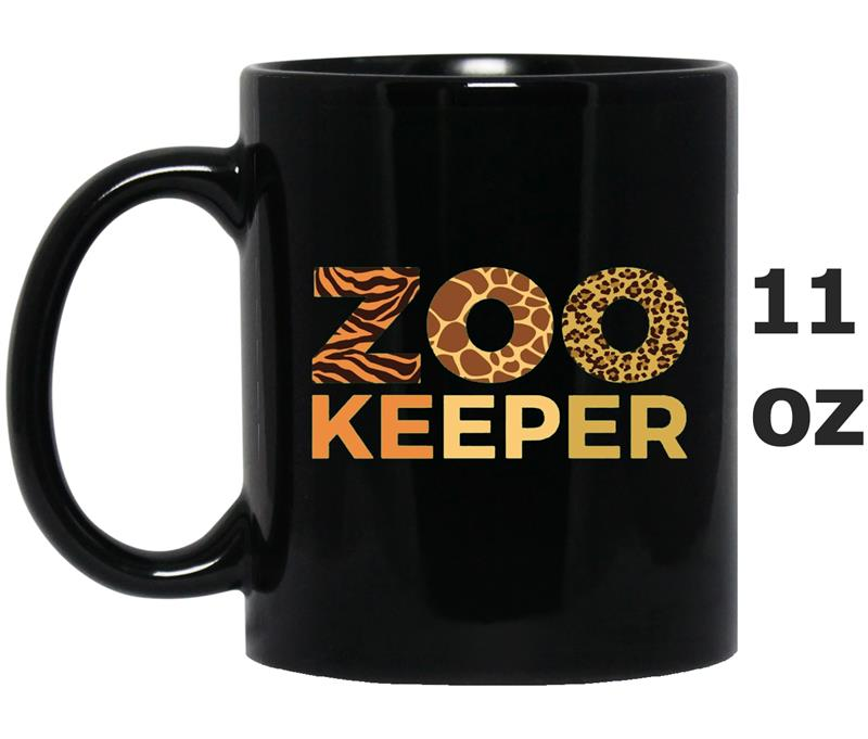 Womens Womens Zoo Keeper  Gift Animal Lover  Girls-FL-Mug OZ