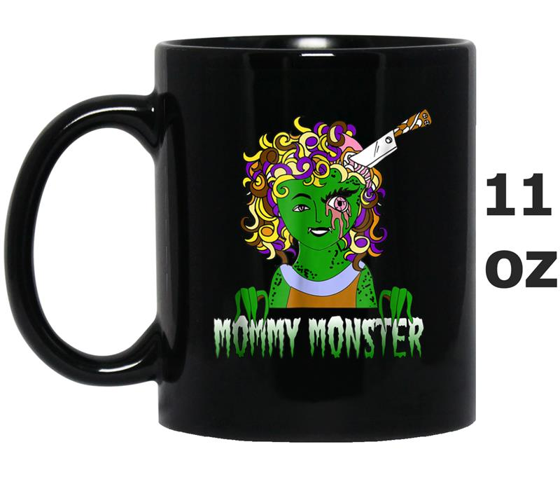 Mommy Monster Halloween Funny Couple Familys Mug OZ