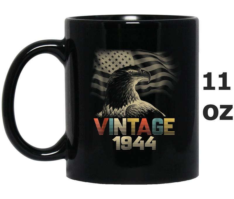 Vintage 1944- 74 Years Old 74th Birthday 1940s Gift Mug OZ