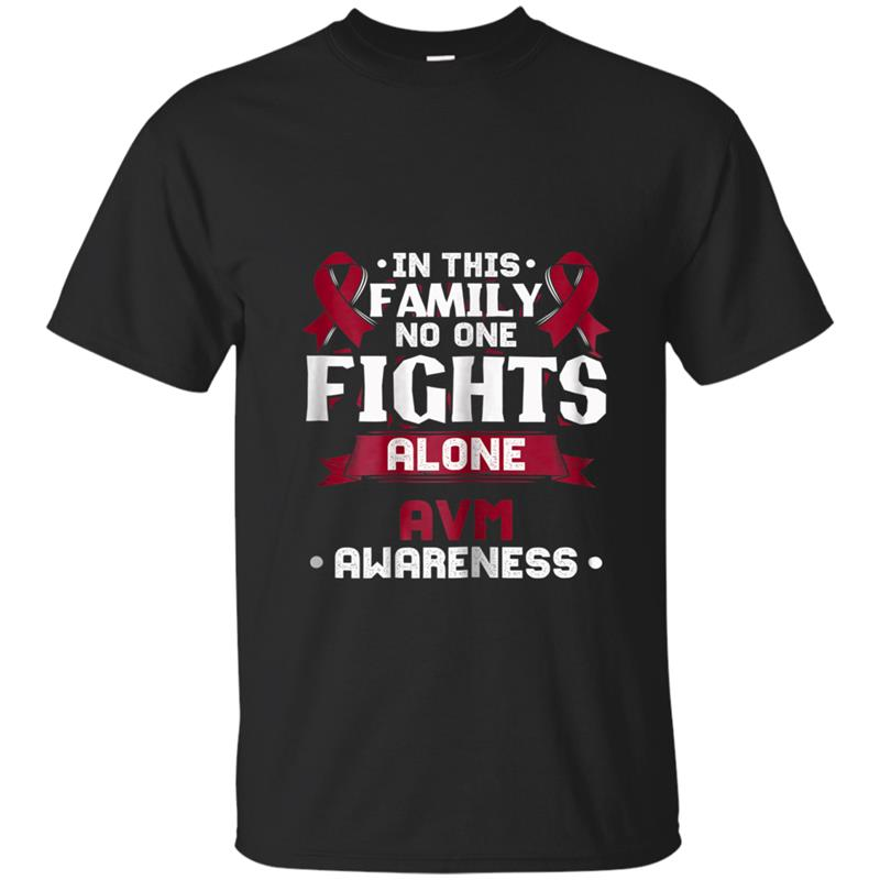 AVM  - Arteriovenous Malformation Awareness T-shirt-mt