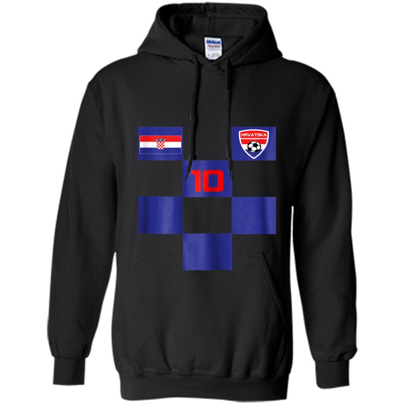Croatia Soccer Jersey  Black Blue Men Women Kids Sizes Hoodie-mt