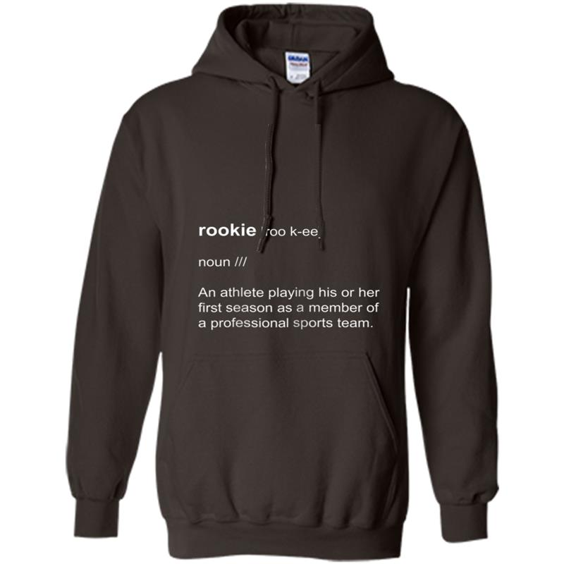 Rookie Definition Dictionary Short-Sleeve Hoodie-mt