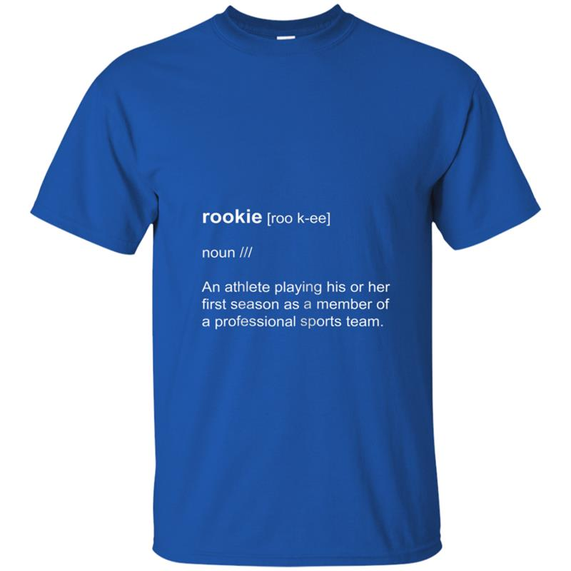 Rookie Definition Dictionary Short-Sleeve T-shirt-mt