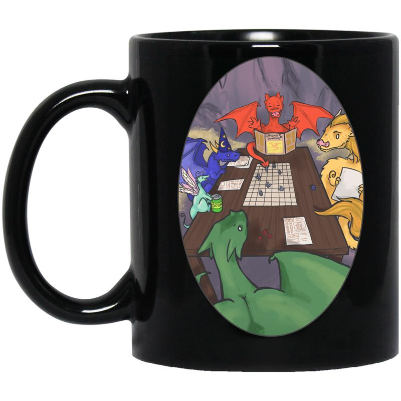 Dungeons Dragons Ceramic Travel Mug