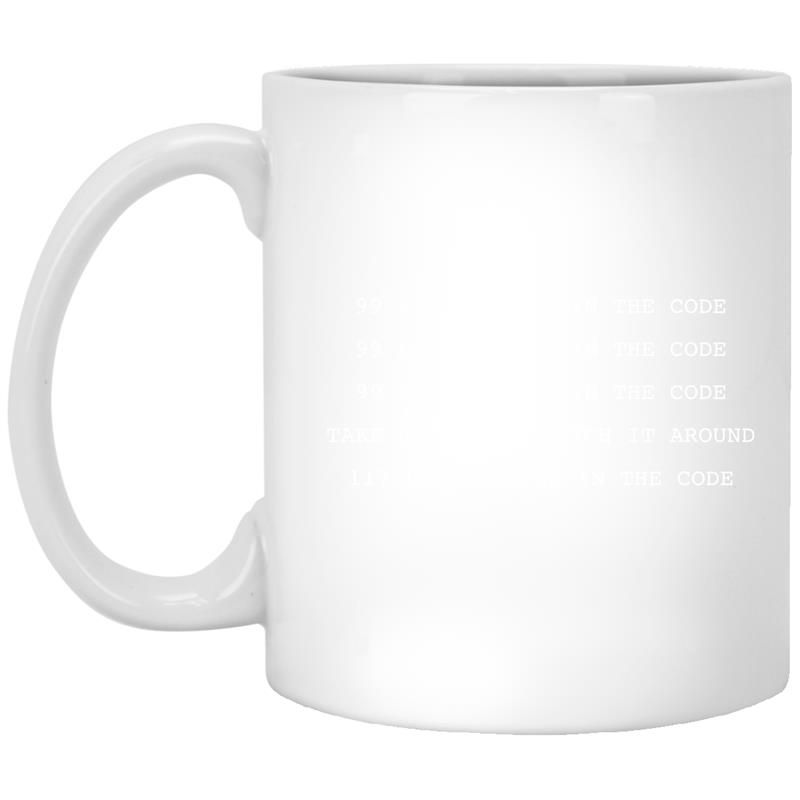 99 Bugs In The Code Computer Programmer Mug