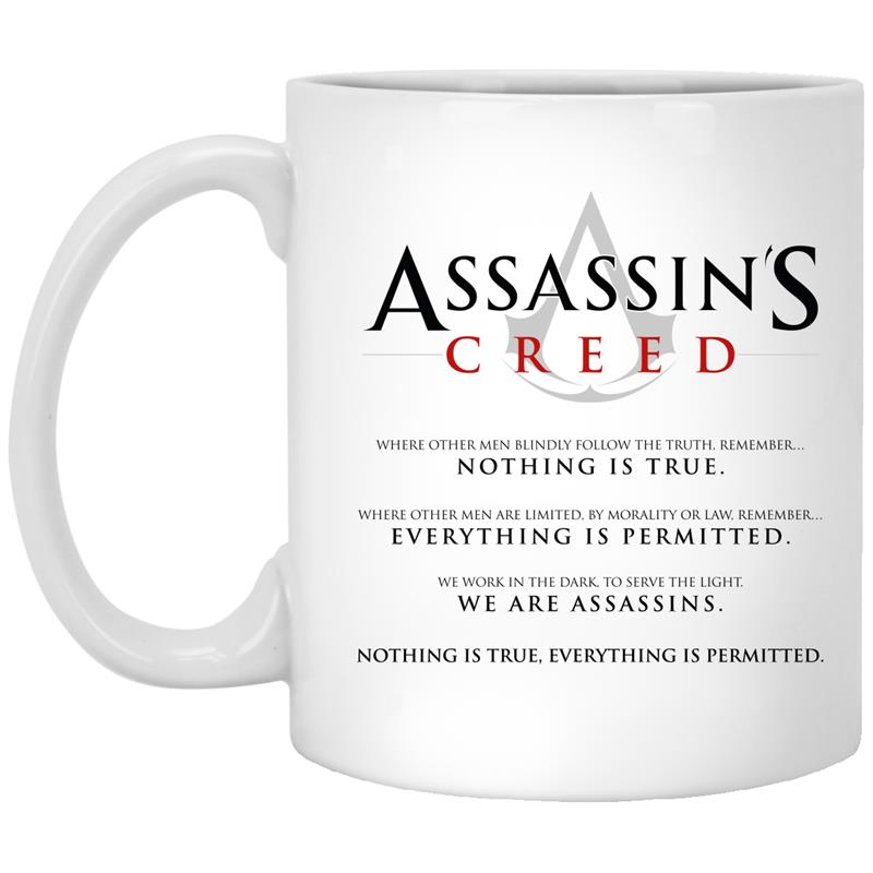 Assassins Creed Oath Mug – Mugozstyle