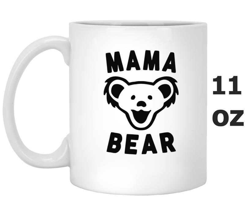 mama bear Our mama bear mug presents coffee, cocoa and tea with charming storybook style crafted of high-fired ceramic and finished with a white glaze, the mug features an illustrated black bear and cub on the outside, and a black and gold butterfly on the.