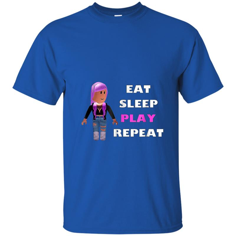 Gifts For Kids That Love Roblox Eat Sleep Roblox Gift For Kids T Shirt Mt Mugartshop