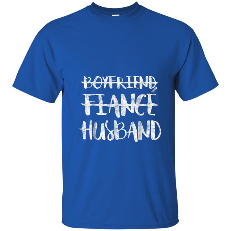 What To Get Fiance For Wedding Gift: Mens Boyfriend Fiance Husband Married Man Wedding Gift T